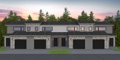 The Loop Condominiums Development, Bellafield, Brandon MB, J&G Homes, Two-Storey, 2 Story
