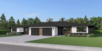 J&G Homes Urban Square Condos - Back to Back